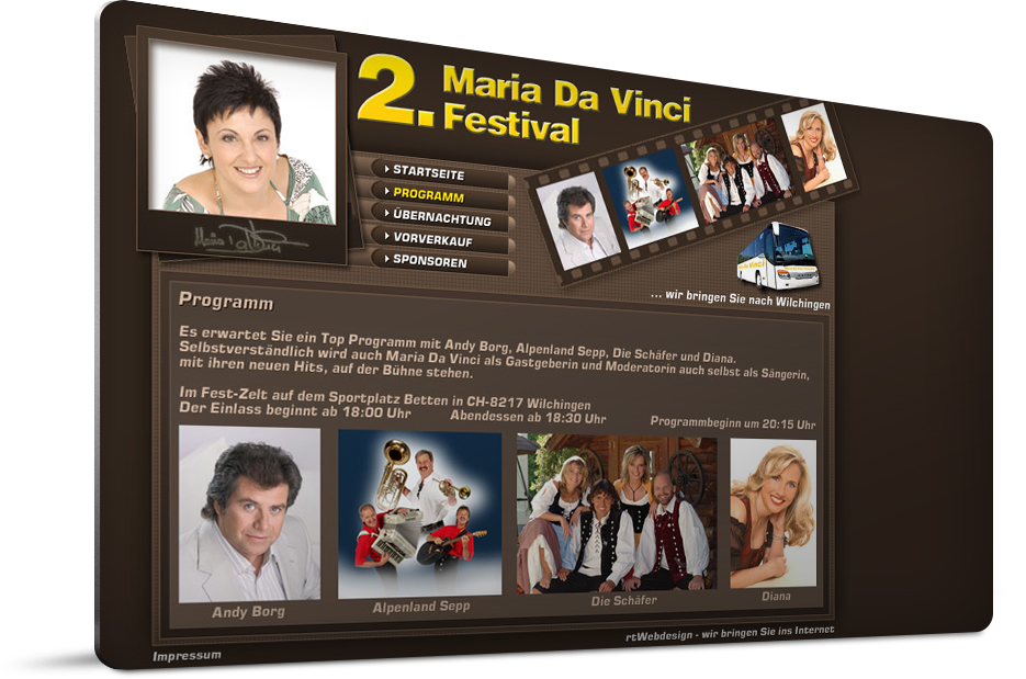 Maria Da Vinci Festival