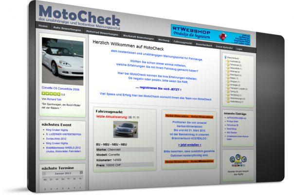 Motocheck - das unabhängige und kostenlose Meinungsportal für die Schweiz, Fürstentum Liechtenstein, Österreich und Deutschland