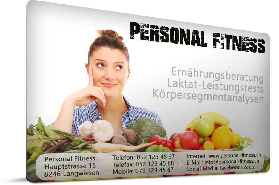 Personal-Fitness - eine Musterseite von rtWebdesign.