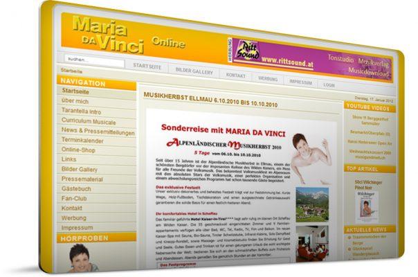 offizielle Maria da Vinci Website