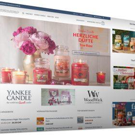 Der Onlineshop für Duftkerzen von Yankee Candle und WoodWick sowie tolle Dekoartikel - www.rtwebshop.ch